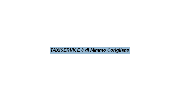 TaxiService 8