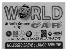 autonoleggio World Car Petillo